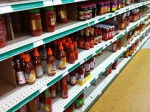chili sauces, super cheap too